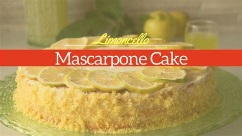 limoncello mascarpone cake recipe easy