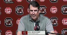 Will Muschamp defiantly responds to report about pending ...