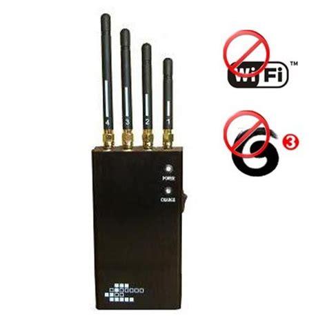 portable wifi  gsm cdma dcs pcs signal jammer