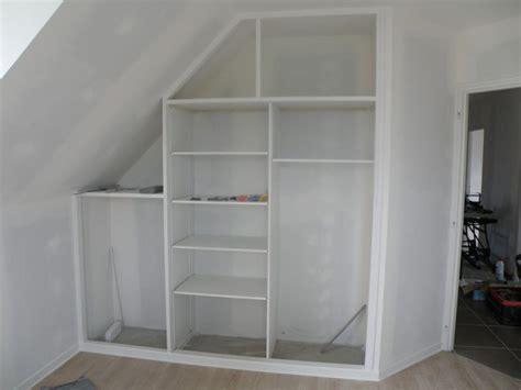 bureau d angle avec rangement etagere de placard 81 dressing idees
