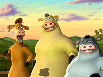 Barnyard Animation Movies Disney Wallpapers Cows Jersey