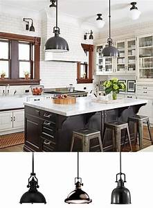 Industrial Pendant Lighting in the Kitchen - Lamps Plus