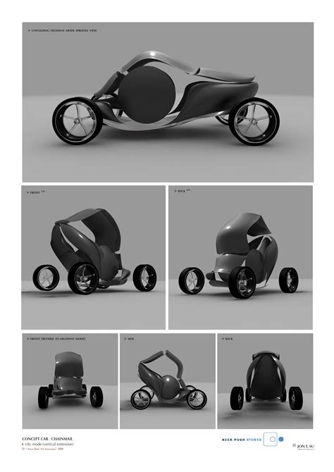The Car of the Future, more sketches, by Nick Pugh « Alan