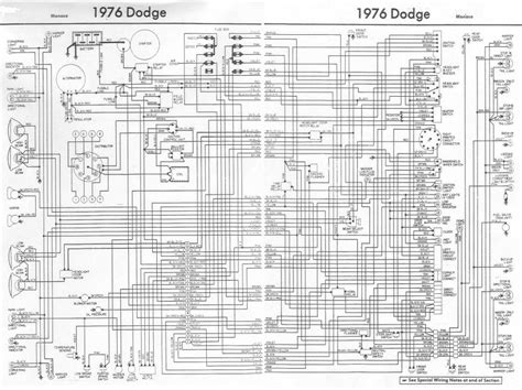 1976 dodge truck wiring diagram truck dodge trucks dodge and trucks
