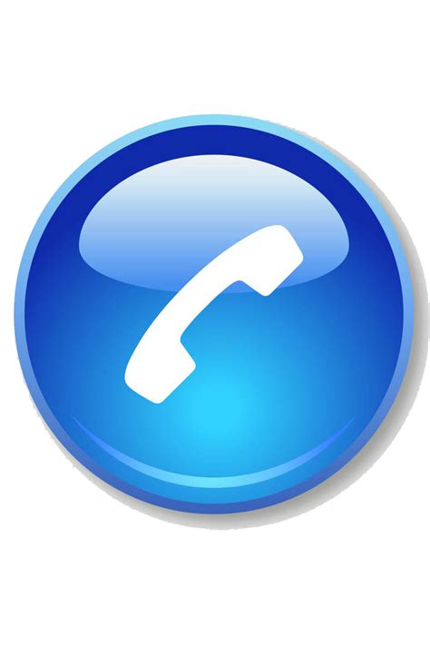 blue phone icon transparent blue phone icon png clipart best
