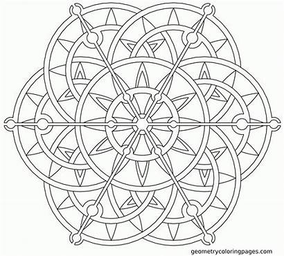 Mandala Coloring Pages Lotus Flower Mandalas Printable