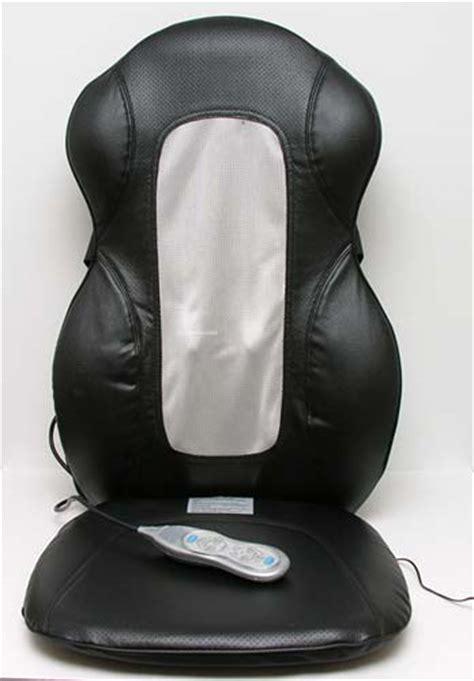 homedics roller massaging cushion the gadgeteer