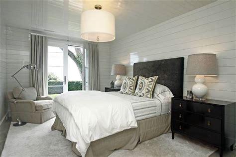 black  beige bedroom transitional bedroom
