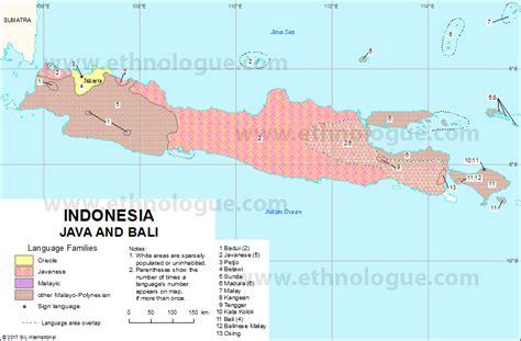 indonesia java  bali ethnologue
