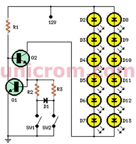 Luces Led Traseras Freno Para Auto Electronica Unicrom