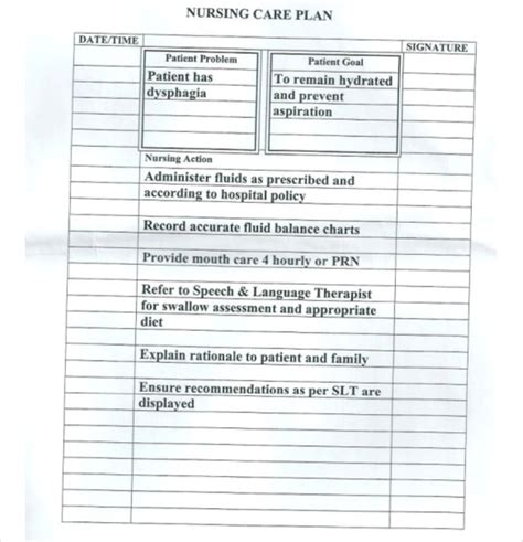 nursing care plan template word nursing care plan amoebiasis2 by lpe53845