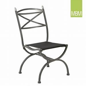 Gartenstuhl Metall Antik : gartenstuhl aus metall medici von mbm ~ Watch28wear.com Haus und Dekorationen