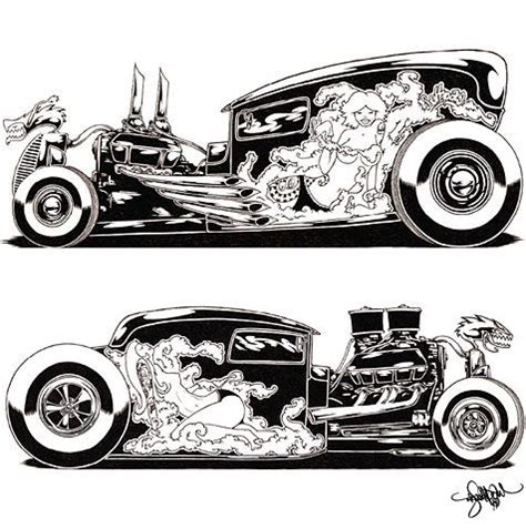 ideas  hot rod tattoo  pinterest