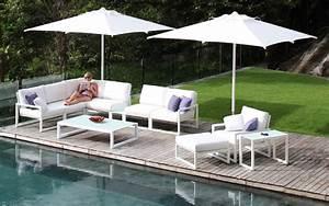 Salon De Jardin Modulable : salon de jardin canap fauteuil bas et banquette ~ Dailycaller-alerts.com Idées de Décoration