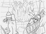 Daniel Den Lions Coloring Pages Bible Getdrawings Getcolorings sketch template
