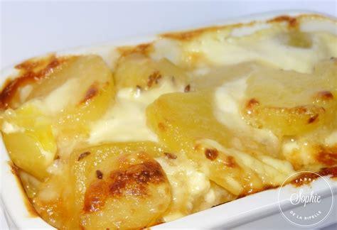 cuisiner l ananas gratin de pommes de terres au munster et cumin la