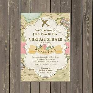 best 25 travel bridal showers ideas on pinterest travel With free printable travel themed wedding invitations
