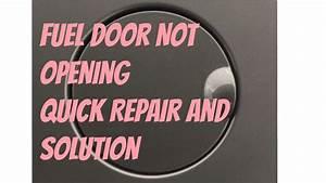 Nissan Defective Fuel Door Repair  U0026 Solution