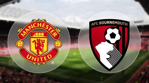 manchester united bournemouth prediction