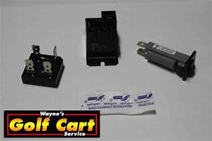 Club Car Battery Charger Repair Kit Powerdrive 2 Model