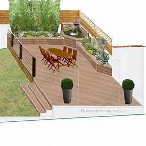 idee decoration terrasse bois With idee deco terrasse bois
