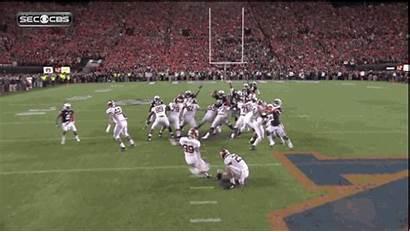 Auburn Goal Return Field Bowl Iron Yard