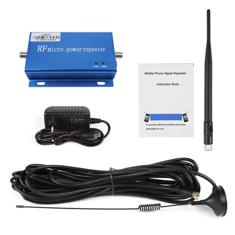 Mobile Phone Signal Repeater by Gsm900mhz Mobile Cell Phone Signal Repeater Booster
