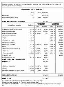 Exemple Bulletin De Paie Avec Indemnité De Licenciement : modele fiche de paie loi fillon document online ~ Maxctalentgroup.com Avis de Voitures