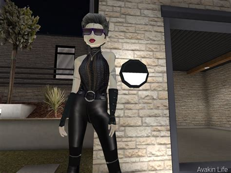 avakin leather pants