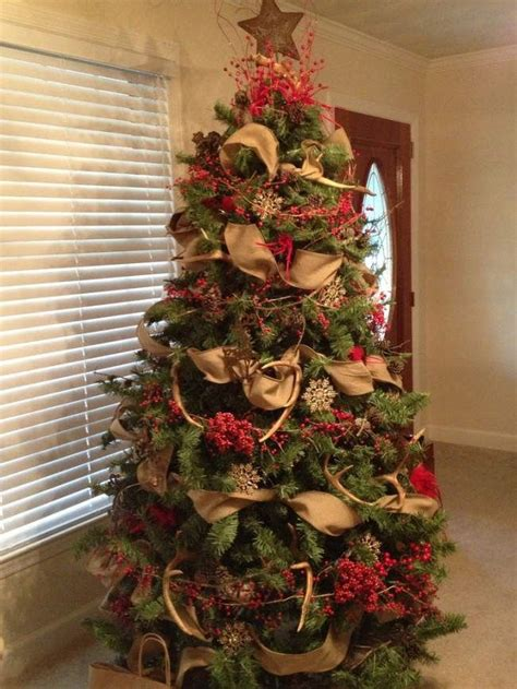 ideas  country christmas trees  pinterest