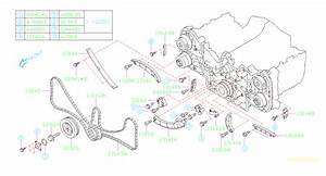 2012 Subaru Outback Engine Timing Chain  Belt  Camshaft