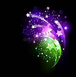 Purple Fireworks Stock Photo - Image: 40546741