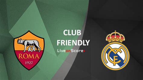 AS Roma vs Real Madrid Predicción y transmisión en vivo ...