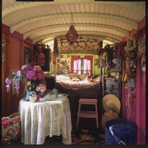inside a gypsy wagon house in my world of design