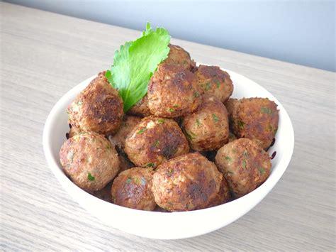 cuisiner boulette de viande boulette de viande à l 39 italienne la cuisine de micheline