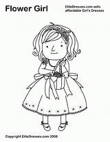 Coloring Pages Flower Flowers Printable Dresses Resolution Books Pageant Colouring Cute Adult Elite Widescreen Popular Getcolorings Coloringhome sketch template