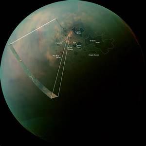 Cassini Spots Hydrocarbon Lakes, Seas on Titan | Space ...