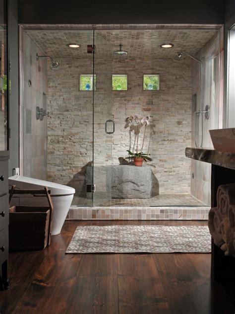 luxurious showers hgtv