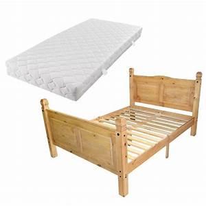 Cadre De Lit 160 : acheter vidaxl cadre de lit avec matelas pin mexicain ~ Preciouscoupons.com Idées de Décoration