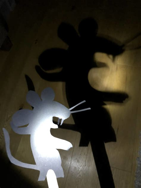 gruffalos child shadow puppet gruffalo craft