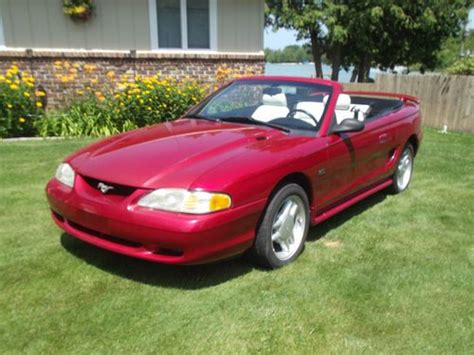 purchase   ford mustang convertible gt