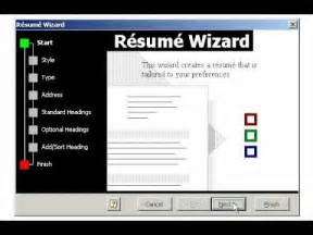 resume wizard in ms word 2010 creating a resume using the wizard in microsoft word