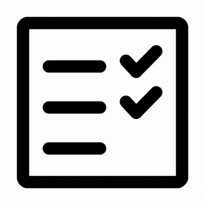 Icon Checklist Check Ok Mark Document Icons