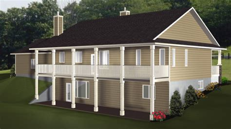House Plans With Walkout Basement Craftsman House Plans