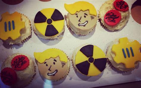 fallout  birthday cupcakes interesting pinterest