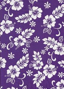 Hawaiian purple fabric pattern | PURPLE MUSE | Pinterest ...