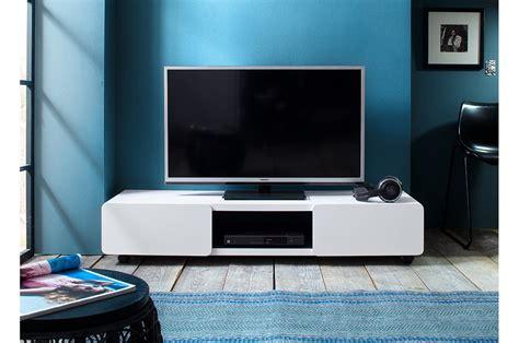 meuble tv à roulettes meuble tv blanc pas cher cbc meubles