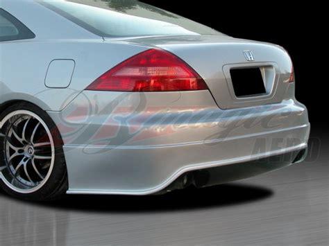 wondrous series rear bumper cover  honda accord   coupe