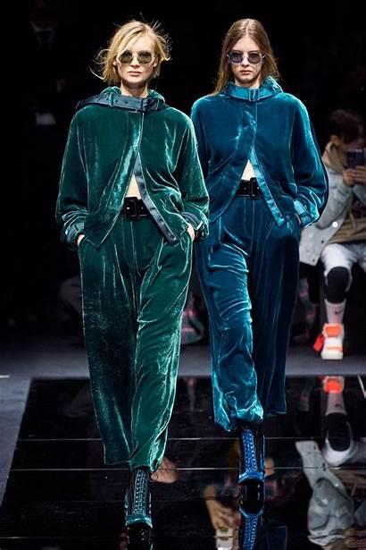 Winter Fall Trends Vogue Armani Emporio Outfits