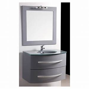 Stunning meuble salle de bain castorama volga pictures for Salle de bain design avec meuble salle de bain 60 cm castorama
